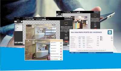 Notre logiciel de gestion d'affichage