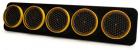 STREAMING LIGHTING BAR 5 OPTICS - Ø 200/80 leds