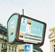 Bornes d'information voyageurs Bus