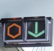Signaux lumineux d'affectations des voies