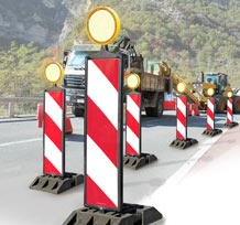 Orientation lumineuse du trafic cablé & radio
