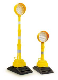 ROADWORKS LAMP - Ø 210-80 - TELESCOPIC