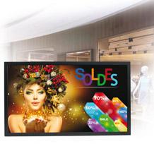 Écrans LCD-LED<br />Haute Luminosité