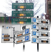 Standardised Dynamic Car Park Guidance Systems