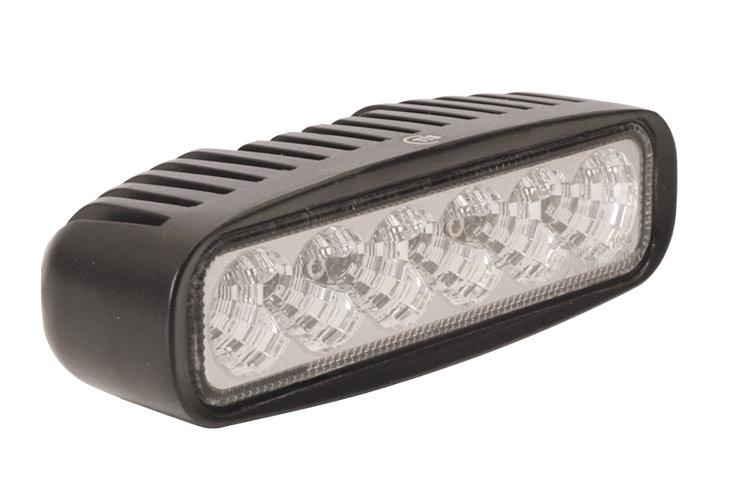 PROJECTEUR À LEDS 18 W / 2100 lumens 12 V / 24 V