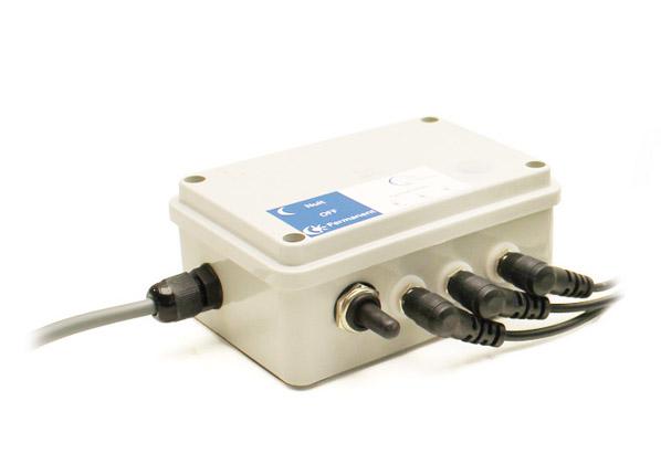 Boîtier de commande triflash pour kit solaire 17 Ah