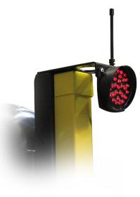 Jeu de 2 feux tricolores Tempo avec option - Fonctionnement alternat manuel télécommandé<br />