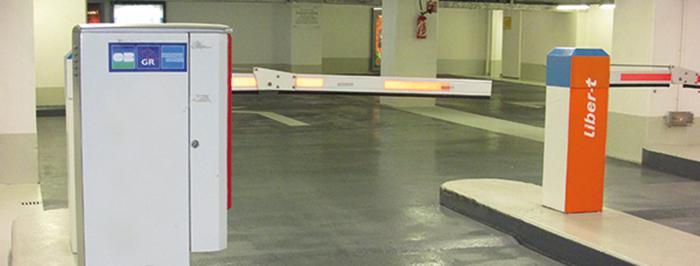 Système de comptage parking boucle au sol