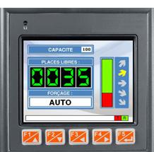 Automate de comptage et de gestion parking