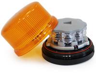 gyrophare leds neo orange embase magnetique mode flash 12 24 volts. Black Bedroom Furniture Sets. Home Design Ideas