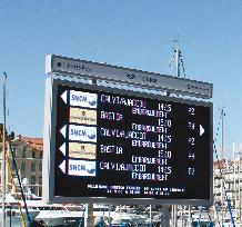 Panneaux d'Information Portuaire